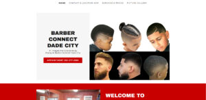 get more hosting, barber connect dade city, florida website,